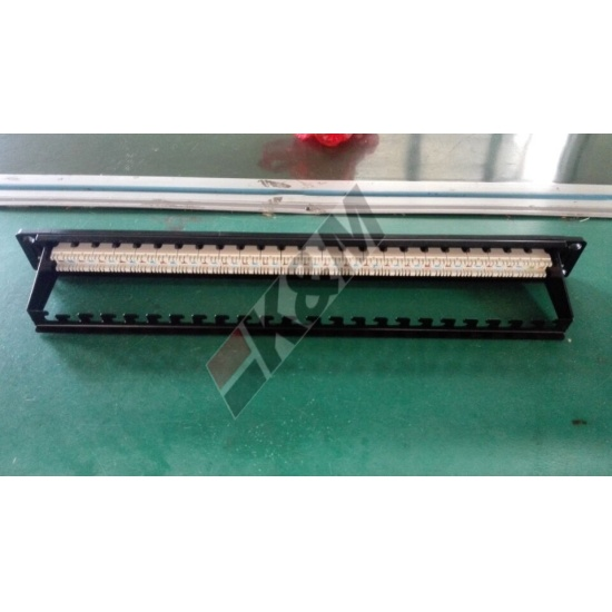 1U 24 porte UTP CAT6 Patch Panel