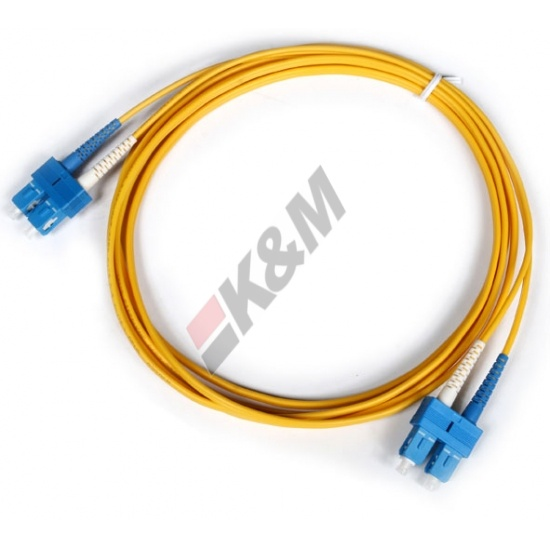 SC PC per PC SC Duplex 3,0 mm PVC 9/125 Singlemode Patch cord