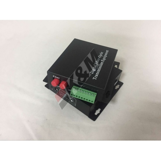 1 FC DX SM a 4 porte RS232 Media Converter